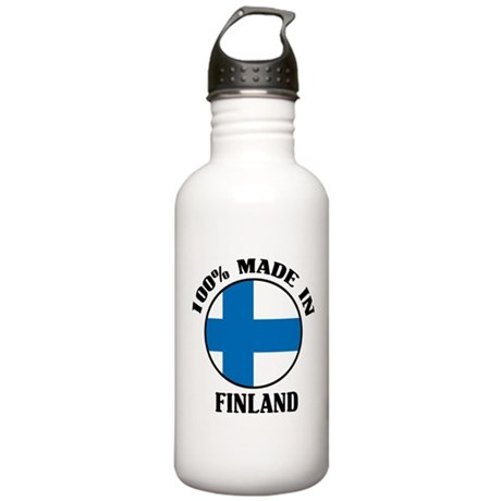 100% Made In Finland Stainless Water Bottle 1.0L