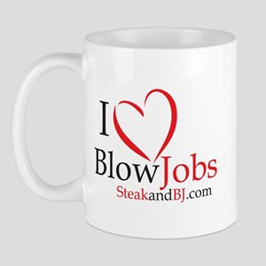 I Love Blowjobs! Mug