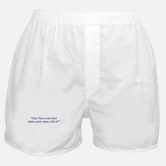 Piss Pig Boxer Shorts