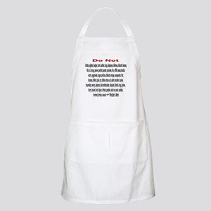 Wrestling Mom BBQ Apron