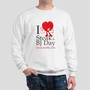 I Love Steak & BJ II Sweatshirt