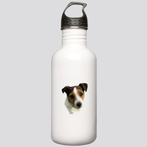 Jack Russell Watercolor Stainless Water Bottle 1.0