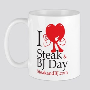 I Love Steak & BJ II Mug
