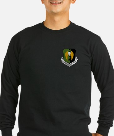 5th Bomb Wing Long Sleeve T-Shirt (Dark)