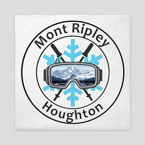 Mont Ripley Ski Resort - Houghton - Queen Duvet