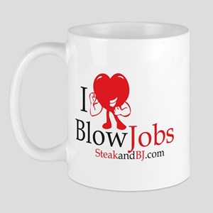 I Love Blowjobs II Mug