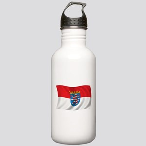 Wavy Hesse Flag Stainless Water Bottle 1.0L