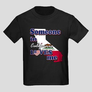 someone in california loves me Kids Dark T-Shirt