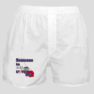 someone in california loves me Boxer Shorts