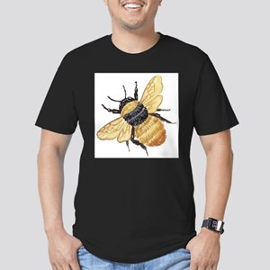 Bumble Bee Men's Fitted T-Shirt (dark)