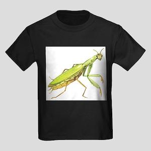 Praying Mantis Kids Dark T-Shirt