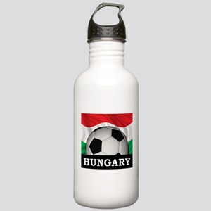 Hungary Football Stainless Water Bottle 1.0L