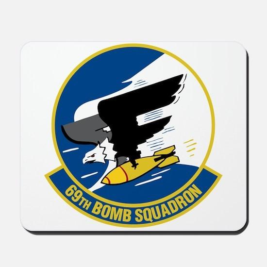69th Bomb Squadron Mousepad