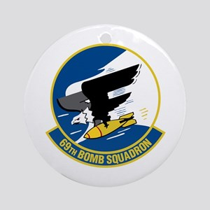 69th Bomb Squadron Ornament (Round)