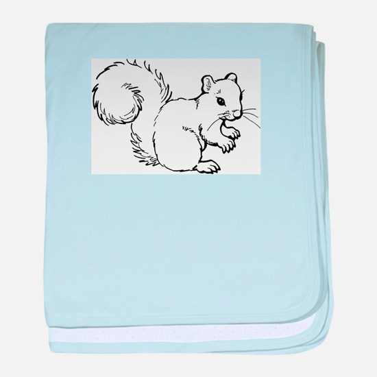 Cute Squirrel T-shirts Gifts baby blanket