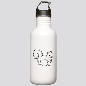 Cute Squirrel T-shirts Gifts Stainless Water Bottl