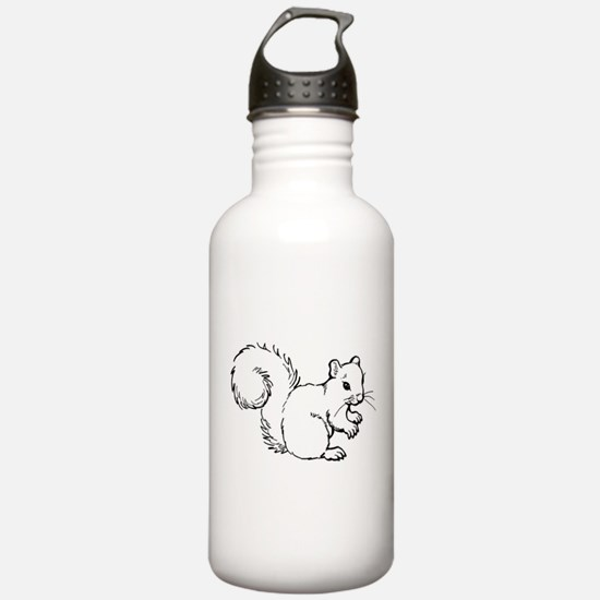 Cute Squirrel T-shirts Gifts Water Bottle