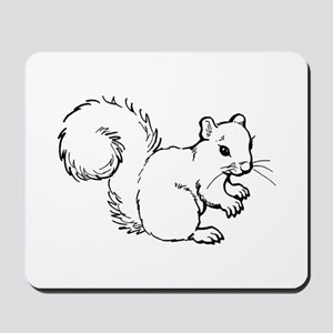 Cute Squirrel T-shirts Gifts Mousepad