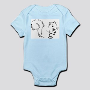 Cute Squirrel T-shirts Gifts Infant Bodysuit