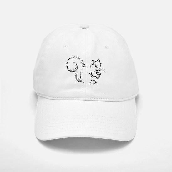 Cute Squirrel T-shirts Gifts Baseball Baseball Cap