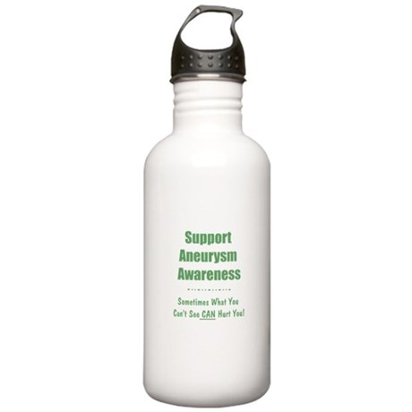 Support Aneurysm Awareness Stainless Water Bottle
