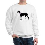 Greyhound Breast Cancer Supp Sweatshirt