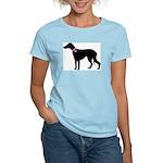 Greyhound Breast Cancer Supp Women's Light T-Shirt