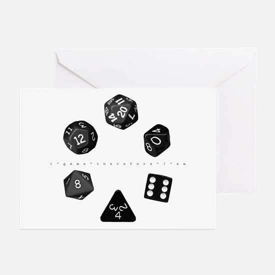Dice Ring Greeting Cards (Pk of 10)