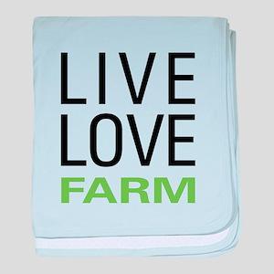 Live Love Farm baby blanket
