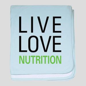 Live Love Nutrition baby blanket