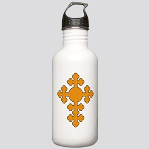 Romanian Cross Round Stainless Water Bottle 1.0L