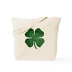 Grunge Shamrock Tote Bag