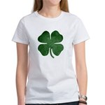 Grunge Shamrock Women's T-Shirt