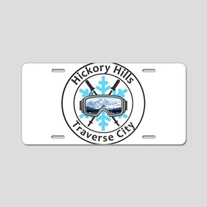 Hickory Hills Ski Area - Aluminum License Plate