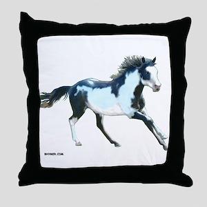 Ziggy The Stallion Throw Pillow