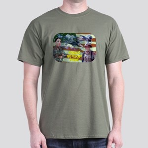 Female Veteran Pride Dark T-Shirt