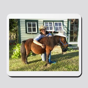 4-H Pigtail Cowgirl Mousepad