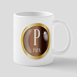 P For Papa Mugs