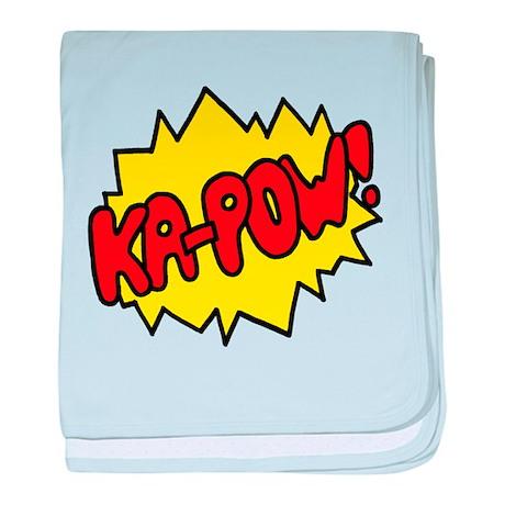 'Ka-Pow!' baby blanket