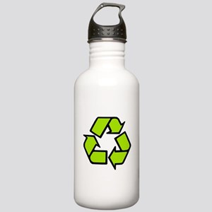 'Recycling Symbol' Stainless Water Bottle 1.0L