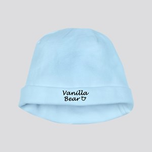 'Vanilla Bear' baby hat