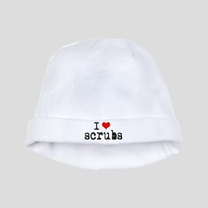 'I Love Scrubs' baby hat