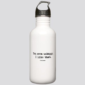 'You Seem Unhappy' Stainless Water Bottle 1.0L