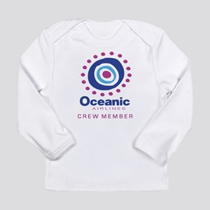 'Oceanic Airlines Crew' Long Sleeve Infant T-Shirt