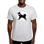 Alaskan Malamute Breast Cance Light T-Shirt