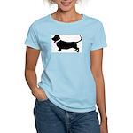 Basset Hound Breast Cancer Su Women's Light T-Shir