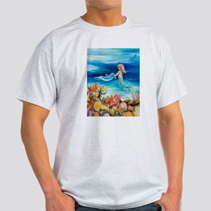 Mermaid and Dolphine meet Light T-Shirt