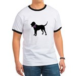 Blood Hound Breast Cancer Sup Ringer T
