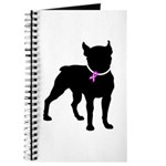 Boston Terrier Breast Cancer Support Journal