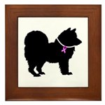 Chow Chow Breast Cancer Suppo Framed Tile